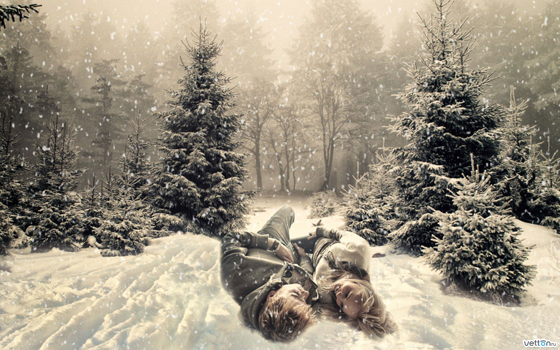 Зима романтика картинки 3
