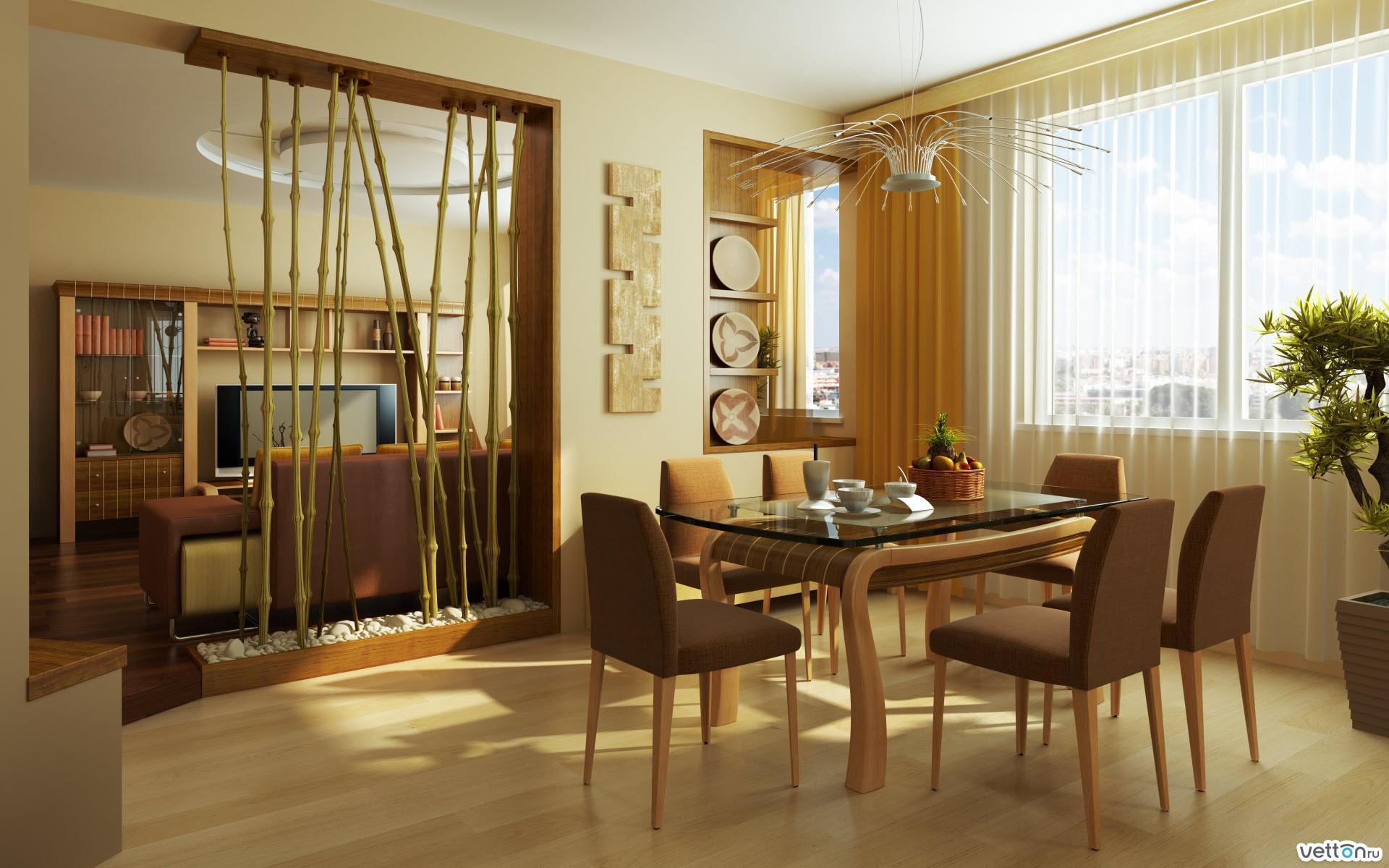 Стили интерьера столов